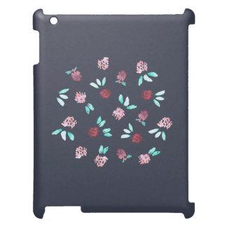 Clover Flowers Matte iPad Case