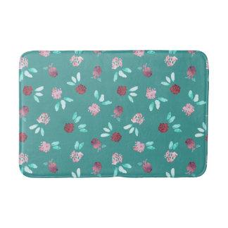 Clover Flowers Medium Bath Mat