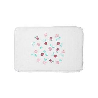 Clover Flowers Small Bath Mat