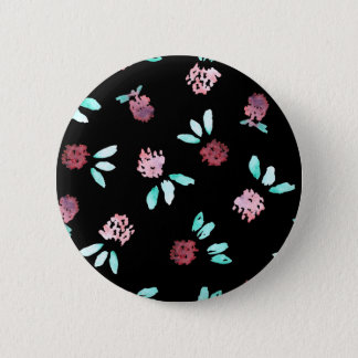 Clover Flowers Standard Round Button