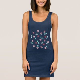 Clover Flowers Tank Dress