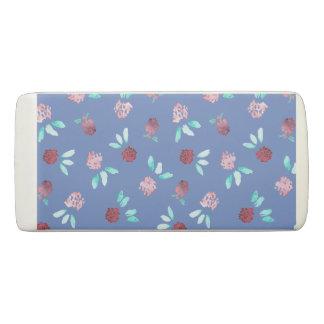 Clover Flowers Wedge Eraser