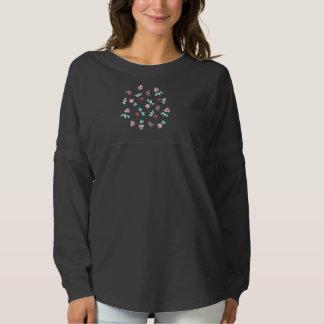 Clover Flowers Women's Spirit Jersey Shirt