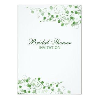 Clover Irish Bridal Shower Invitation