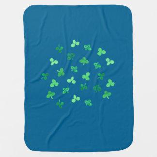 Clover Leaves Baby Blanket