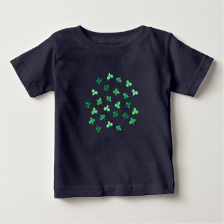 Clover Leaves Baby T-Shirt
