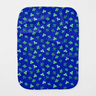 Clover Leaves Burp Cloth