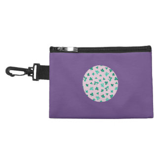 Clover Leaves Clip-On Accessory Bag
