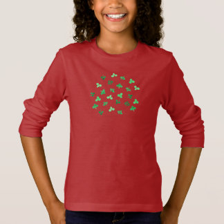 Clover Leaves Girls' Long Sleeve T-Shirt