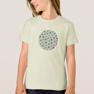 Clover Leaves Girls' Organic T-Shirt