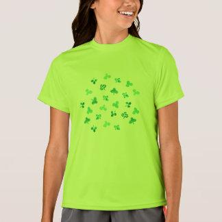 Clover Leaves Girls' Sports T-Shirt