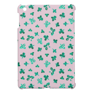 Clover Leaves Glossy iPad Mini Case