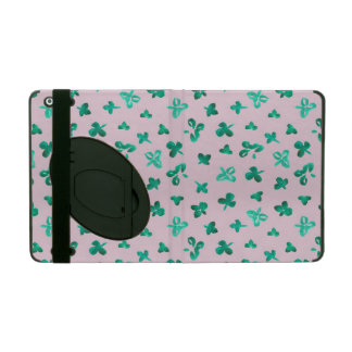 Clover Leaves iPad 2/3/4 Case with Kickstand