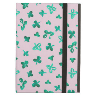 Clover Leaves iPad Air Case with No Kickstand