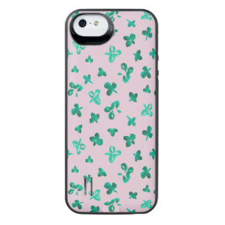 Clover Leaves iPhone SE/5/5s Battery Case