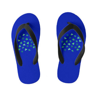 Clover Leaves Kids' Flip Flops Thongs