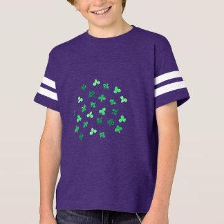 Clover Leaves Kids' Football T-Shirt