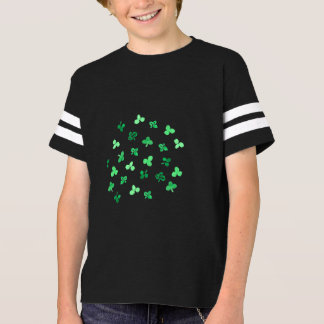 Clover Leaves Kids' Football T-Shirt