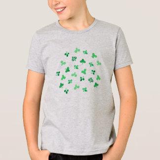 Clover Leaves Kids' Jersey T-Shirt