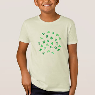 Clover Leaves Kids' Organic T-Shirt
