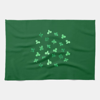 Clover Leaves Kitchen Towel