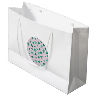 Clover Leaves Large Glossy Gift Bag