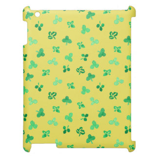 Clover Leaves Matte iPad Case