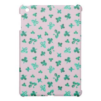 Clover Leaves Matte iPad Mini Case