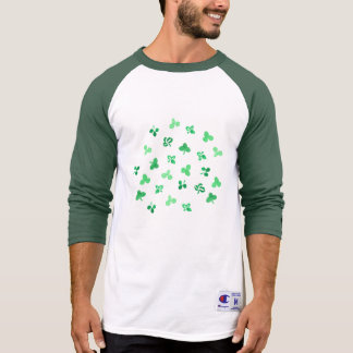 Clover Leaves Men's Raglan T-Shirt