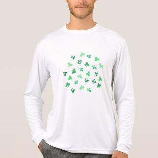 Clover Leaves Men's Sports Long Sleeve T-Shirt