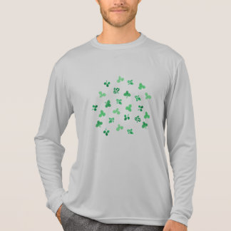 Clover Leaves Men's Sports Long Sleeve T-Shirt