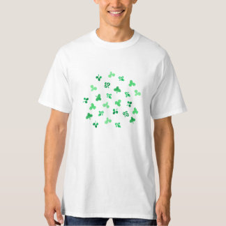 Clover Leaves Men's Tall T-Shirt