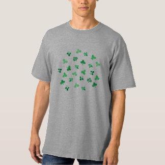 Clover Leaves Men's Tall T-Shirt