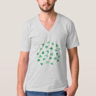 Clover Leaves Men's V-Neck T-Shirt