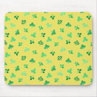 Clover Leaves Mousepad