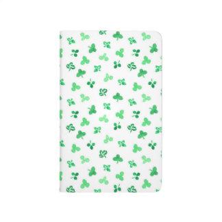 Clover Leaves Pocket Journal
