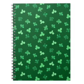 Clover Leaves Spiral Notebook