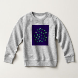 Clover Leaves Toddler Sweatshirt