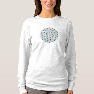 Clover Leaves Women's Basic Long Sleeve T-Shirt