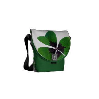 Clover Luck Lucky St. Patrick's Destiny Destiny's Courier Bag