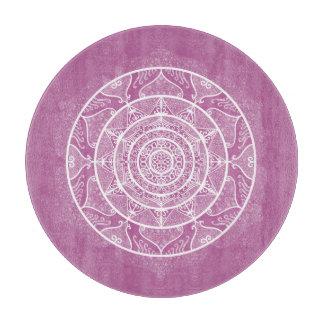Clover Mandala Cutting Board