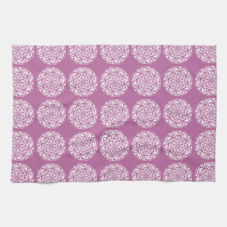 Clover Mandala Tea Towel