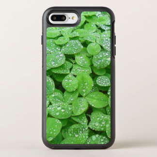Clover Meadow Leaves Spring Rain Dew Green Leaf OtterBox Symmetry iPhone 7 Plus Case