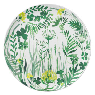 Clover on the field plate