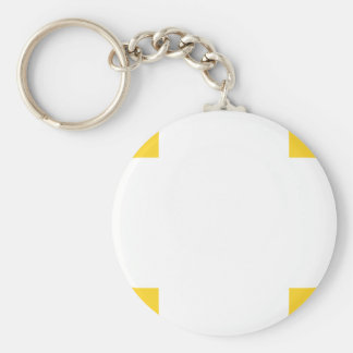 Clover Pattern 1 Freesia Key Chain