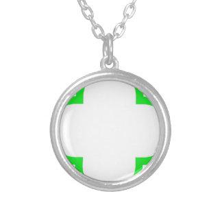 Clover Pattern 1 Green Pendants