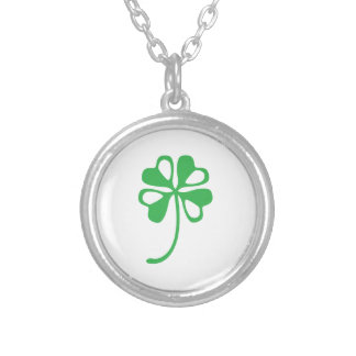 Clover Pattern Custom Necklace