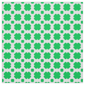 Clover Patterned Fabric