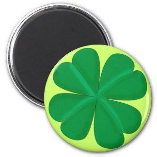 Clover sheet four-leaf talismans magnet