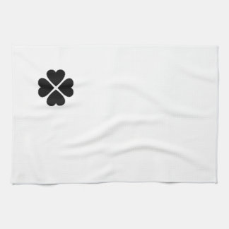 clover sheet heart sweet heart turn out well more  hand towels